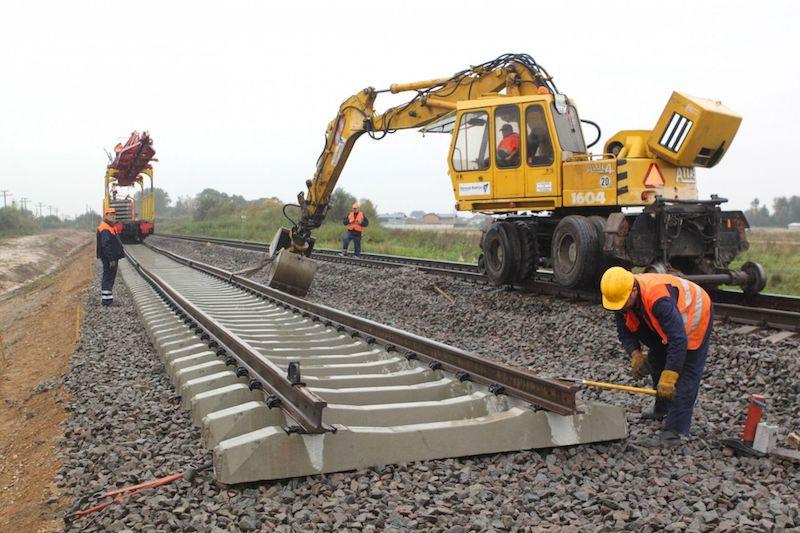 строительство железных дорог, путь и путевое хозяйство